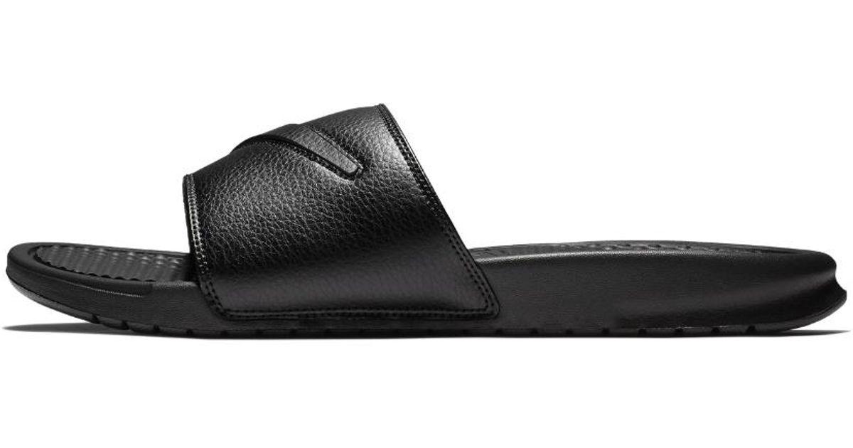 info for e5580 b03a2 Nike Benassi Jdi Ltd Men s Slide Sandal in Black for Men - Lyst