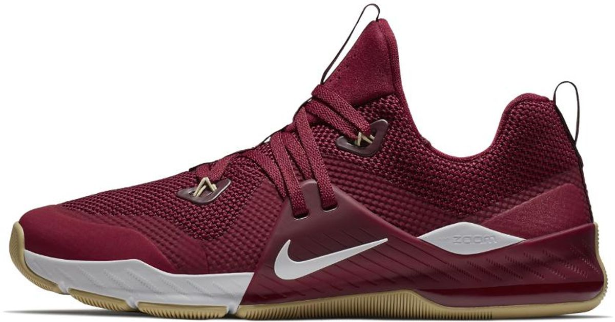 bca70bb79fd60 Lyst - Nike Zoom Command College (florida State) Training Shoe in Red for  Men
