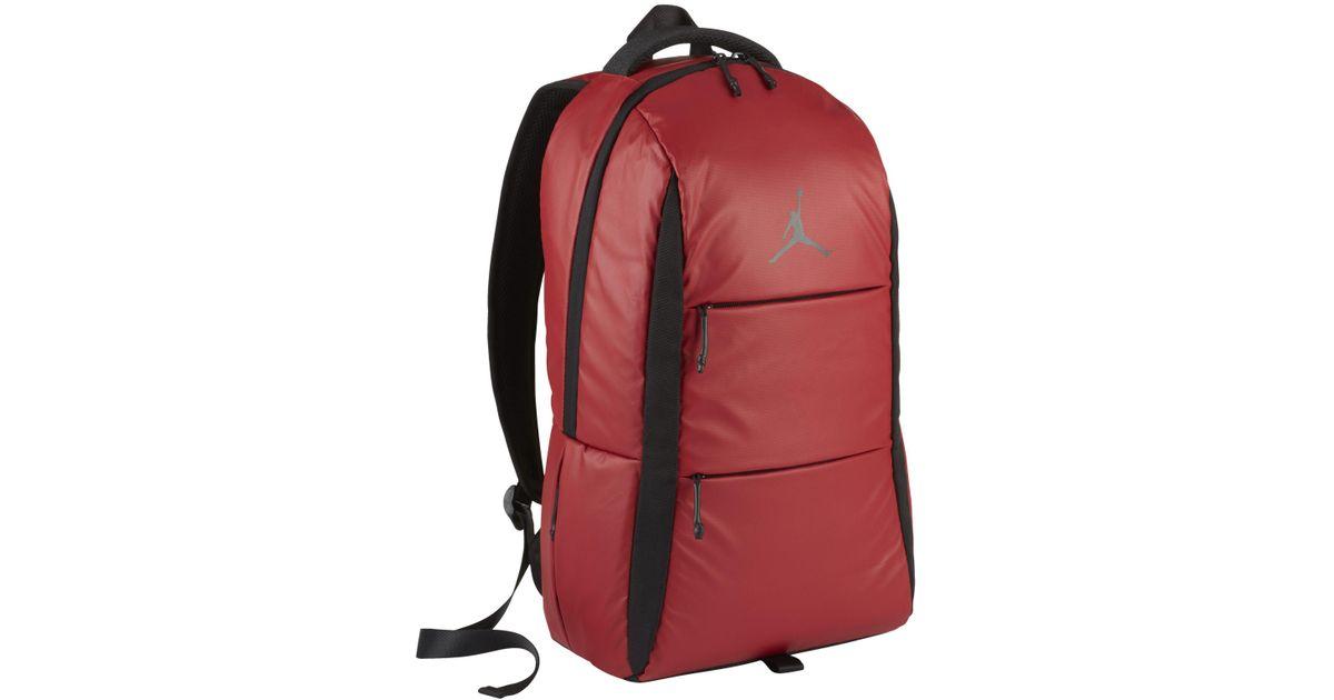 8e1d9d0671b7 ... Nike Jordan Backpack in Red - Lyst ...