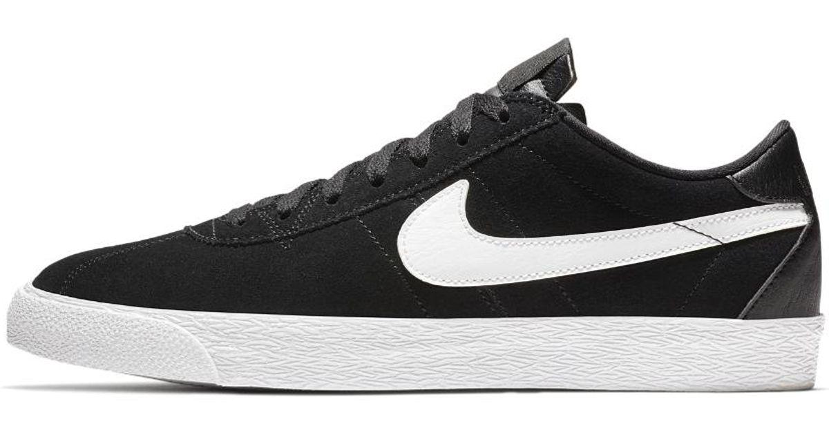 official photos af68a 6fbdd Lyst - Nike Sb Zoom Bruin Premium Se Men s Skateboarding Shoe in Black for  Men