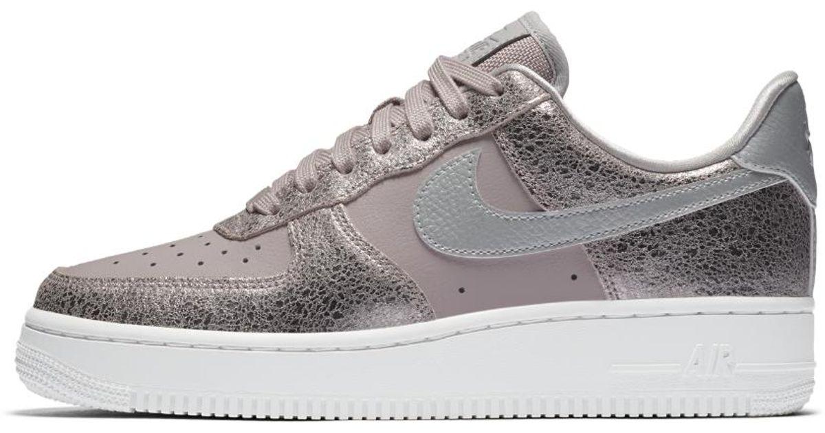 outlet store 4d0d3 624bd Nike Air Force 1 07 Premium Women s Shoe - Lyst