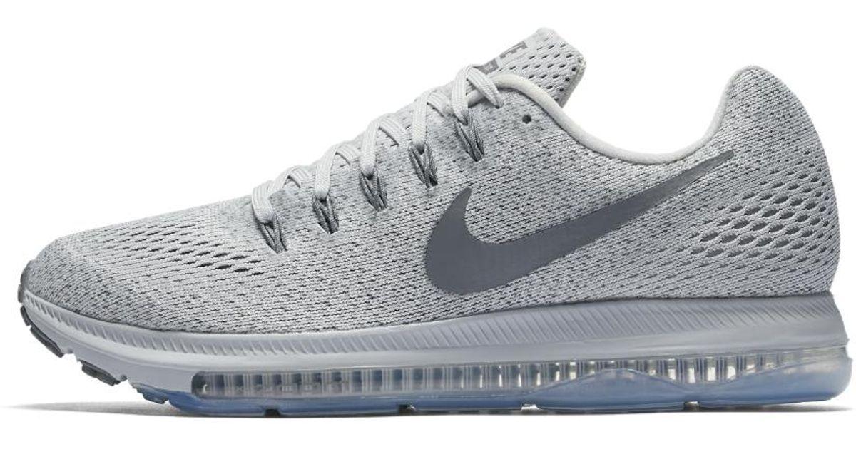 e0de166c3fcc Lyst - Nike Zoom All Out Low Women s Running Shoe in Gray