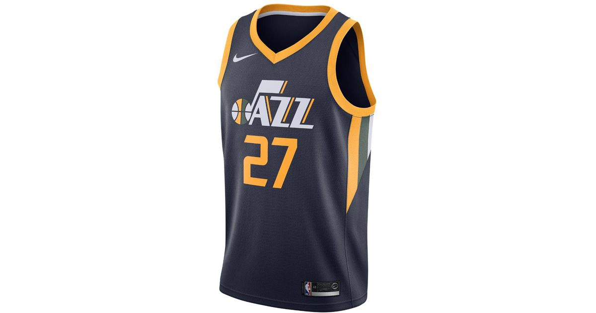 a41e513df Lyst - Nike Rudy Gobert Icon Edition Swingman (utah Jazz) Nba Connected  Jersey in Blue for Men