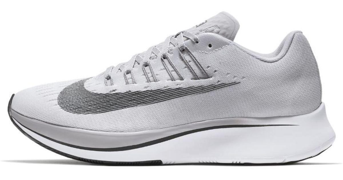 705db6c3ddb83 Lyst - Nike Zoom Fly Women s Running Shoe in Gray
