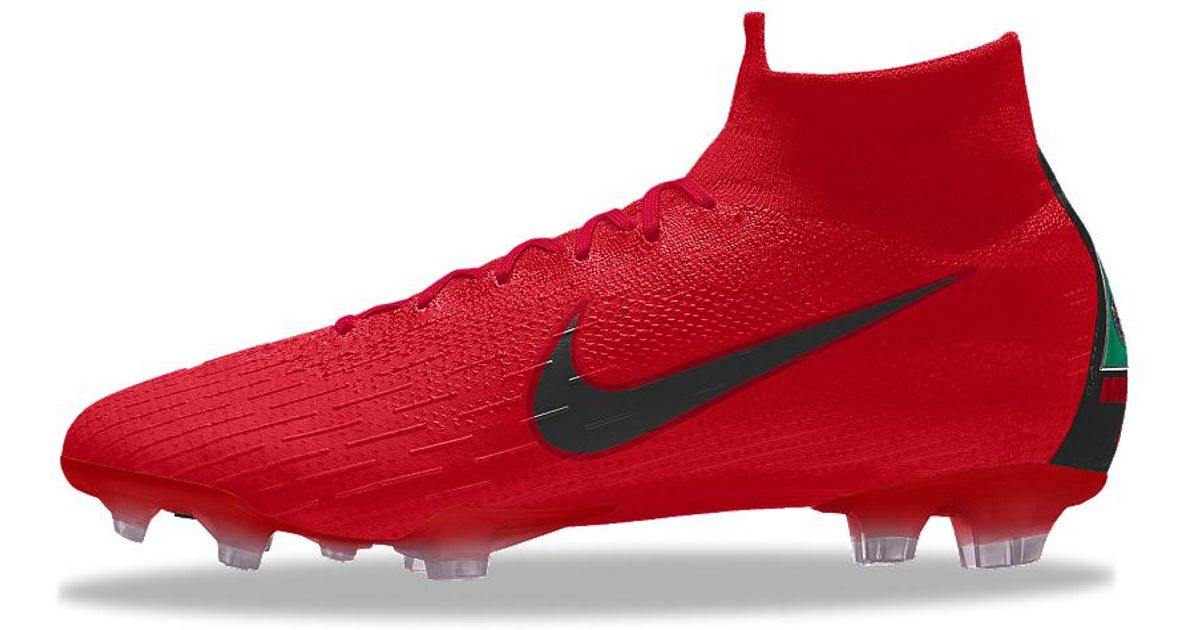 2f0fb203327d8f Lyst - Nike Mercurial Superfly 360 Elite Fg Id Firm-ground Soccer Cleats in  Red for Men