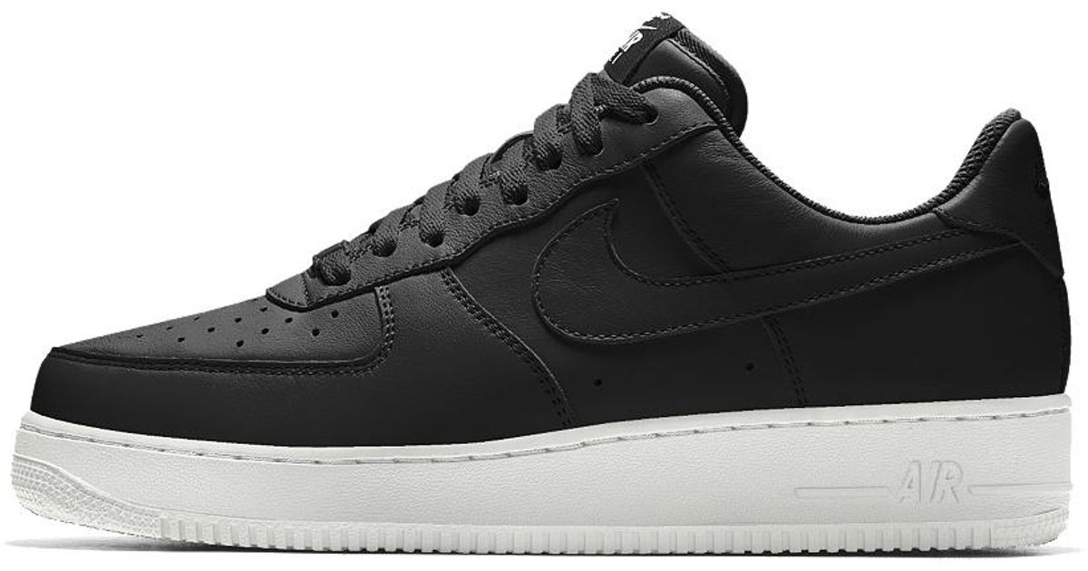 Lyst - Nike Air Force 1 Low Essential Id Men s Shoe in Black for Men 94499420b