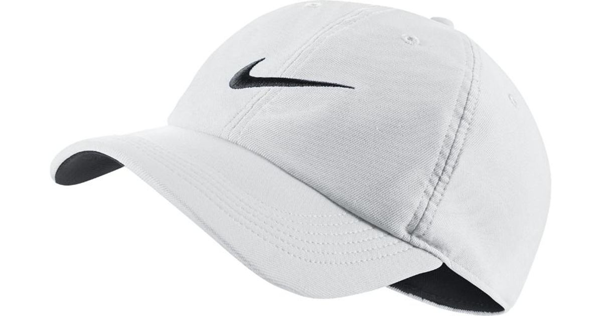 Lyst - Nike Twill H86 Adjustable Training Hat (white) - Clearance Sale in  White for Men 10ab039807d