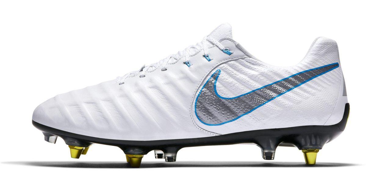 decfd89e73b3 Nike Tiempo Legend Vii Elite Anti-clog Traction Sg-pro Soft-ground Football  Boot in White - Lyst
