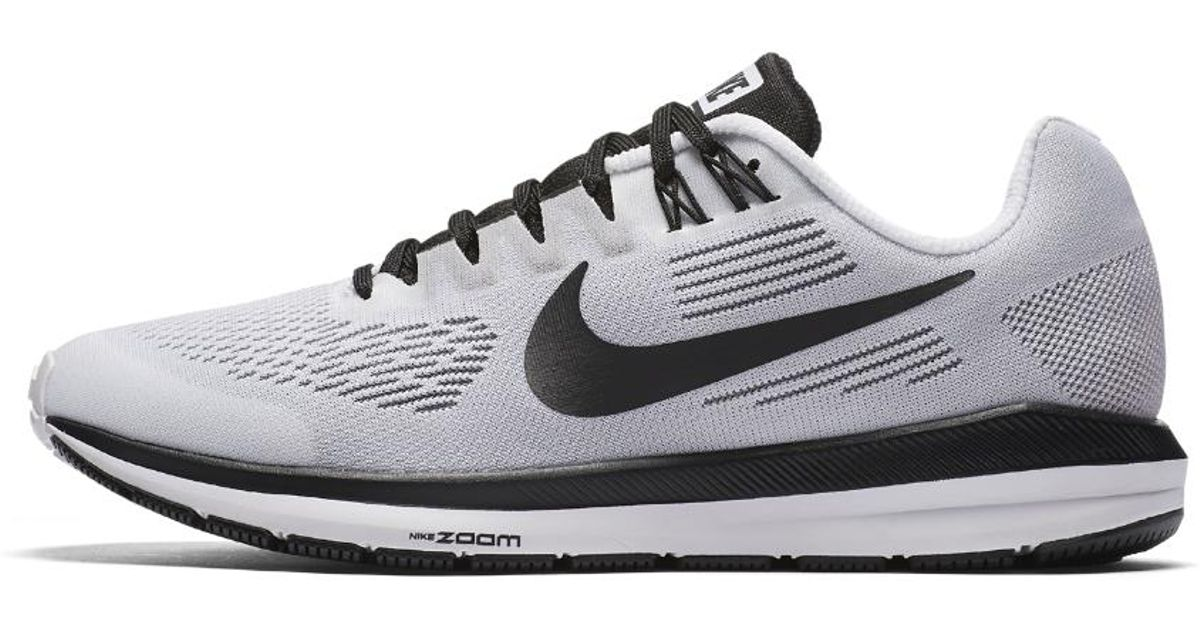 purchase cheap 5b45b 7acb2 Lyst - Nike Air Zoom Structure 21 Le Women s Running Shoe in White
