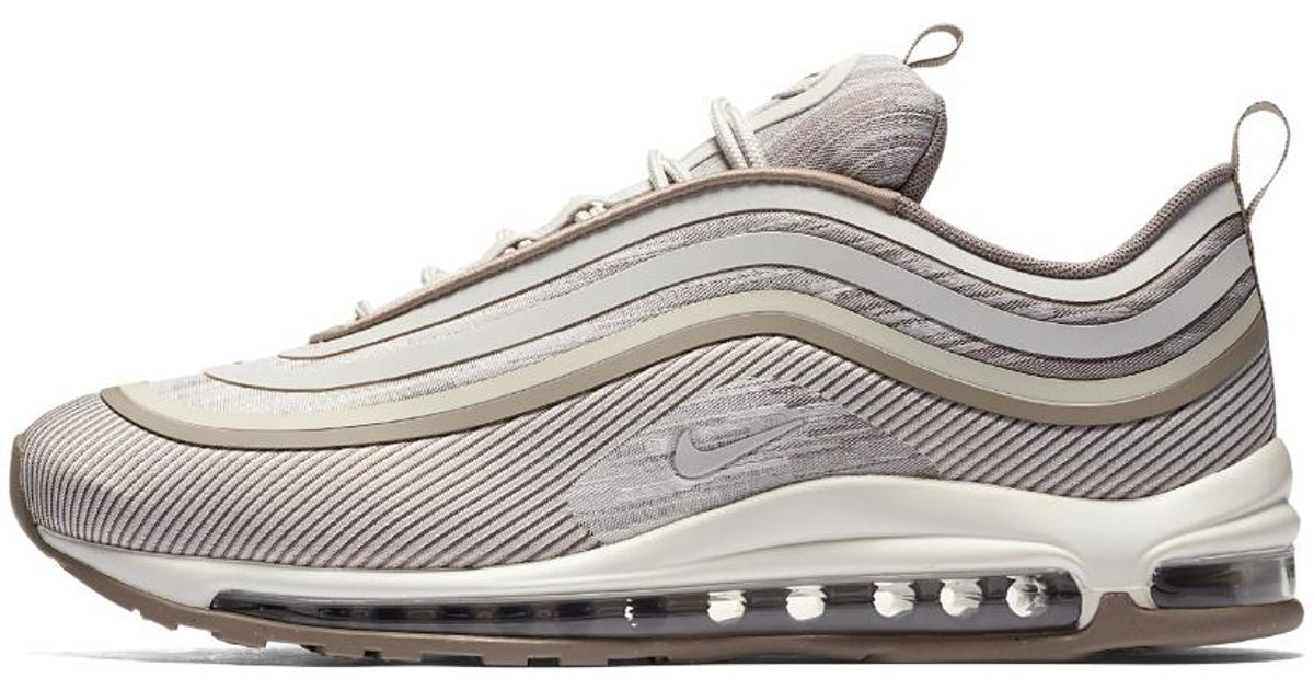 fac7a02ad150 ... wholesale lyst nike air max 97 ultra 17 mens shoe in white for men  4572b 52f6a