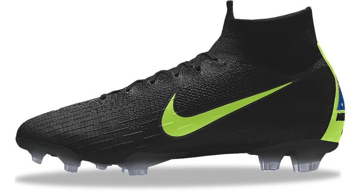 best cheap 1e05a 6a572 Nike Mercurial Superfly 360 Elite Fg Id Firm-ground Soccer Cleats in Black  for Men - Lyst