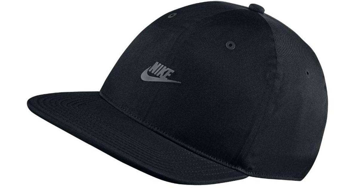 ... wholesale lyst nike sportswear vapor adjustable hat black in black for  men a1e5a b1a0f 4e3ccdb4c249