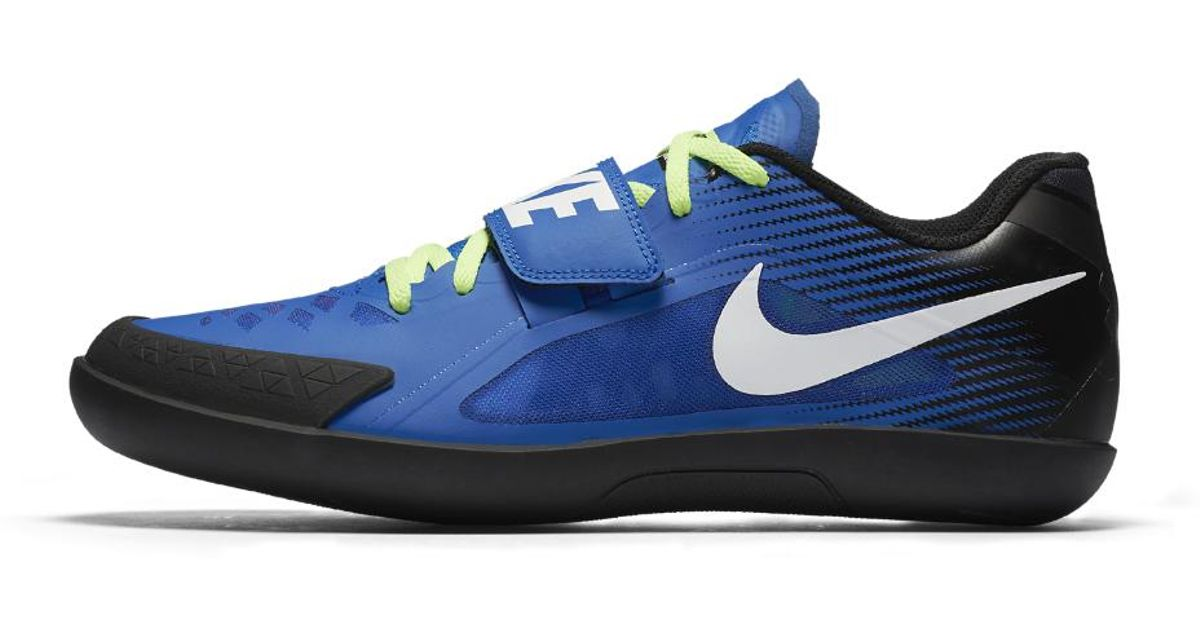 newest b5beb 757b6 Nike Zoom Rival Sd 2 Throwing Spike in Blue for Men - Lyst