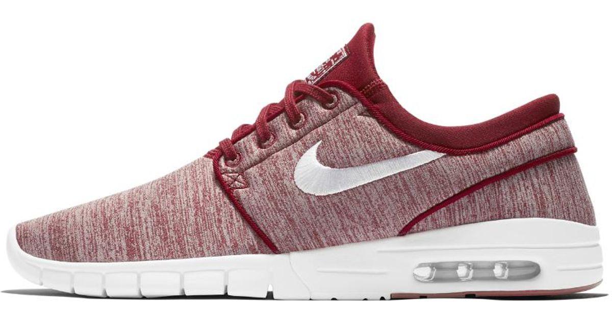 Lyst - Nike Sb Stefan Janoski Max Men s Skateboarding Shoe in Red for Men b25815816