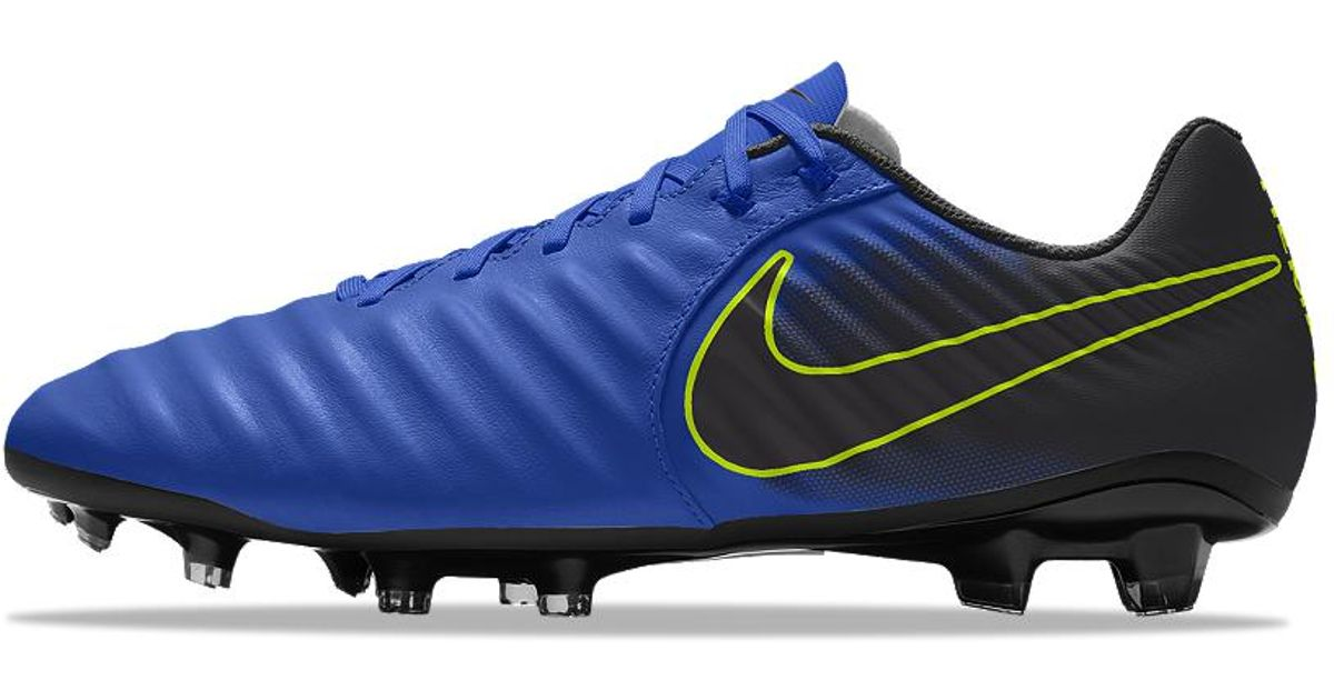 bf22ea0d572 Nike Tiempo Legend 7 Academy Fg Id Firm-ground Soccer Cleats in Blue for  Men - Lyst