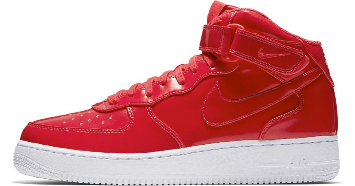 on sale 4d365 6ffbc Nike Air Force 1 Mid '07 Lv8 Uv Men's Shoe in Red for Men - Lyst