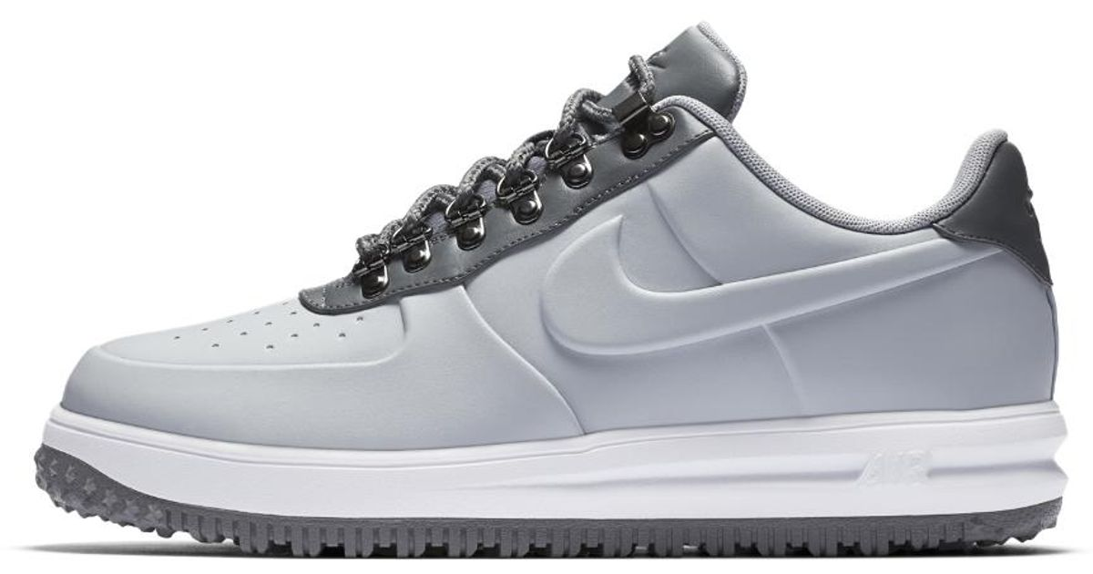 pretty nice e2c09 8e0d5 Lyst - Nike Lunar Force 1 Duckboot Low Men s Shoe in Gray for Men