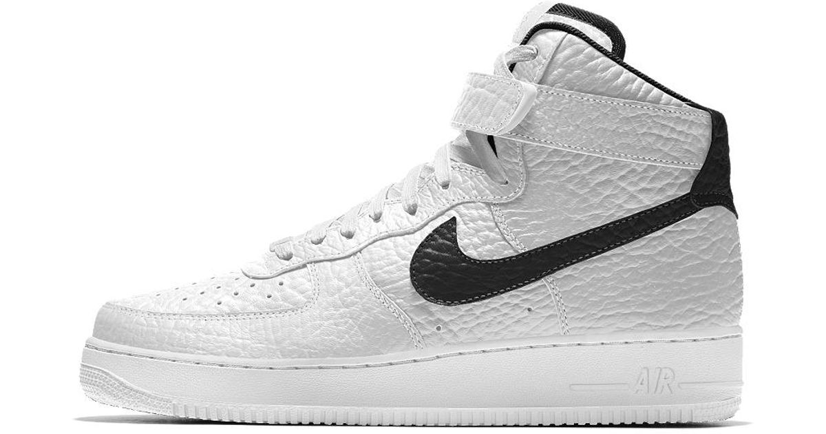 Lyst - Nike Air Force 1 High Premium Id (san Antonio Spurs) Men s Shoe in  White for Men 7a67be1a4