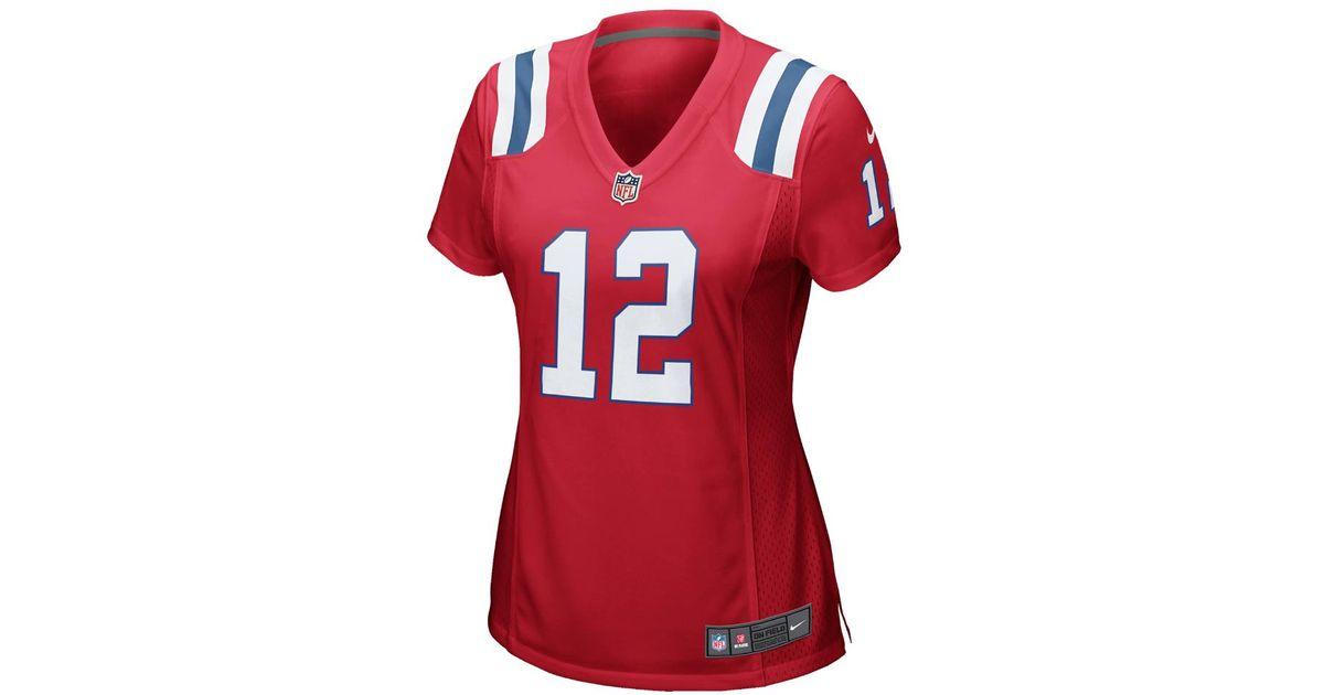 b7d0a74f ... where to buy lyst nike nfl new england patriots tom brady womens  football alternate game jersey