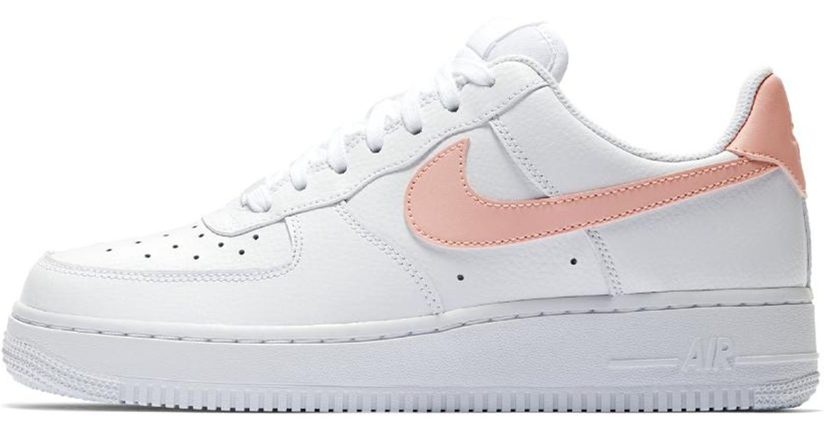 72020aa1cd5e Lyst - Nike Air Force 1  07 Patent Women s Shoe in White