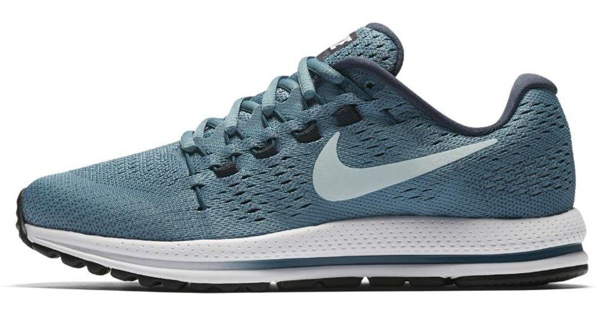 34e1e9ef6fbd04 Lyst - Nike Air Zoom Vomero 12 Women s Running Shoe in Blue