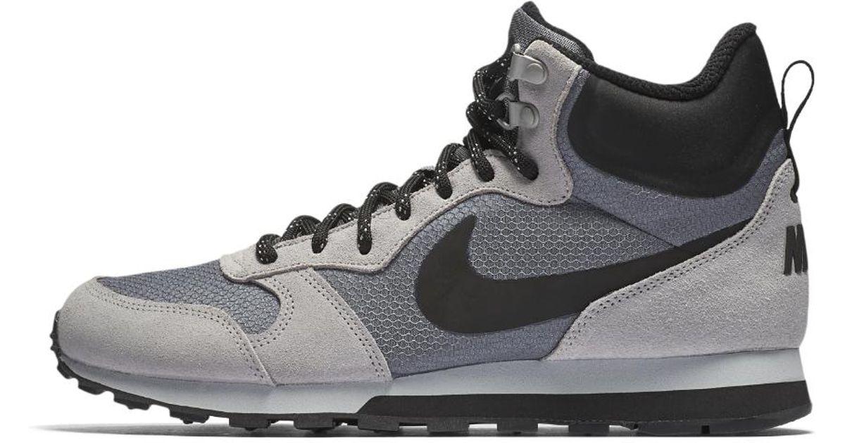 b289ca3471e Nike Md Runner 2 Mid Premium Men's Shoe in Gray for Men - Lyst