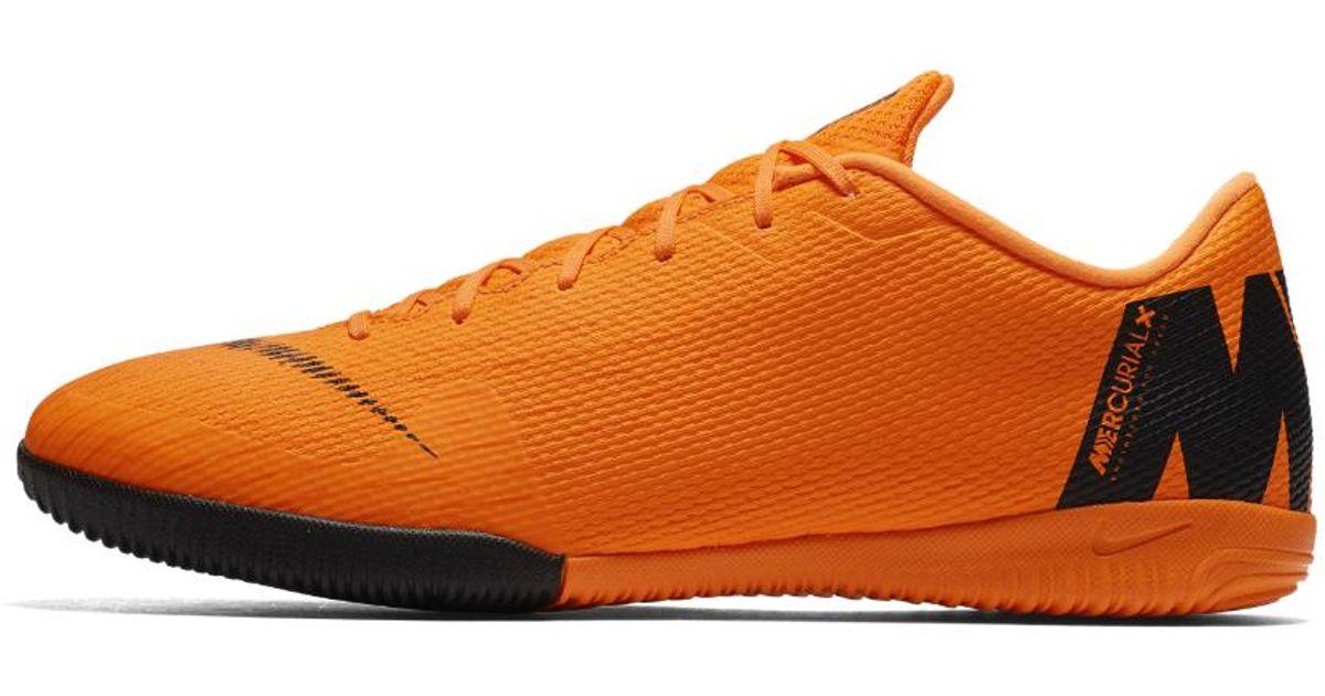 Nike arancia Mercurialx Vapor Xii Academy Indoor Indoor Academy court Soccer scarpe for Uomo Lyst 678b2b