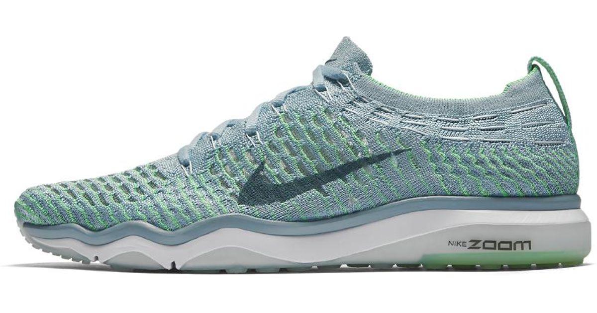 09c552f50089 Lyst - Nike Zoom Fearless Flyknit Women s Training Shoe in Blue