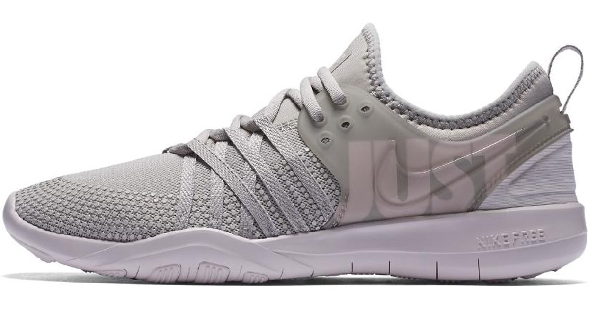 988daeb7e276e Lyst - Nike Free Trainer 7 Premium Women s Training Shoe in Gray