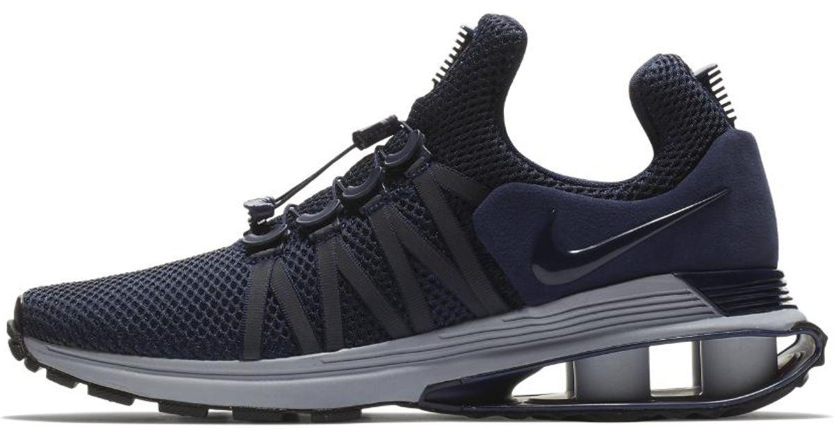 a147c5f3fc9894 Lyst - Nike Shox Gravity Men s Shoe in Blue for Men