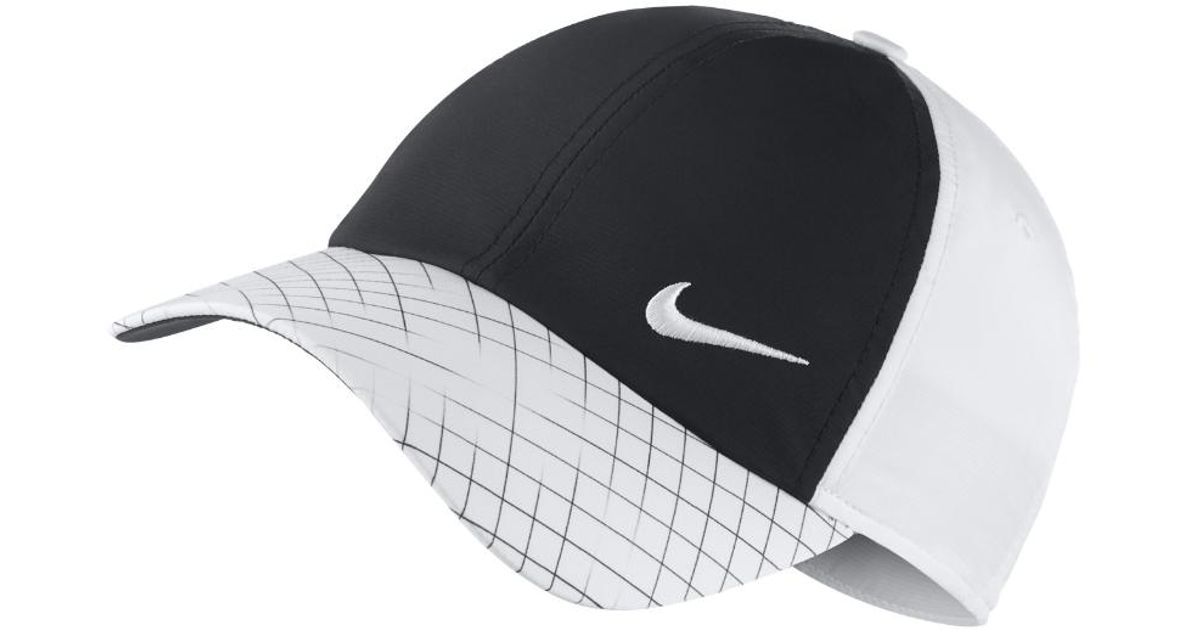 84b29466a5e3 Lyst - Nike H86 Women s Adjustable Golf Hat (white) in White