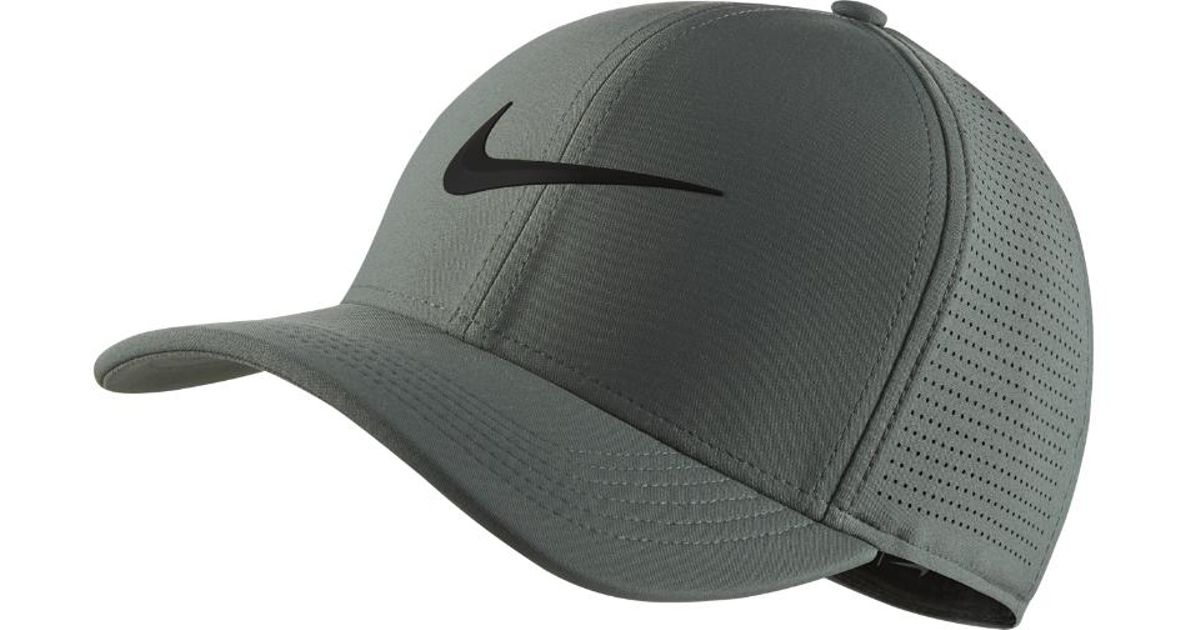 e82d0382725 Lyst - Nike Aerobill Classic 99 Fitted Golf Hat in Green for Men