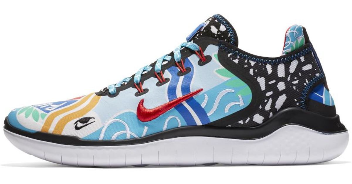 6d32d1bb6461e Lyst - Nike X Kelly Anna Free Rn 2018 T-shirt For Your Feet Men s Running  Shoe in Blue for Men