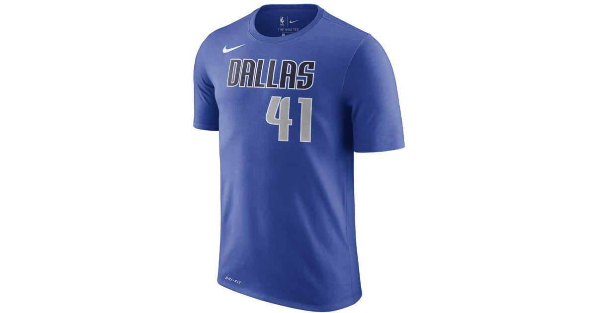 acc98fd66d5 Nike Shirts | Dirk Nowitzki Navy Blue Dallas Mavericks Jersey | Poshmark;