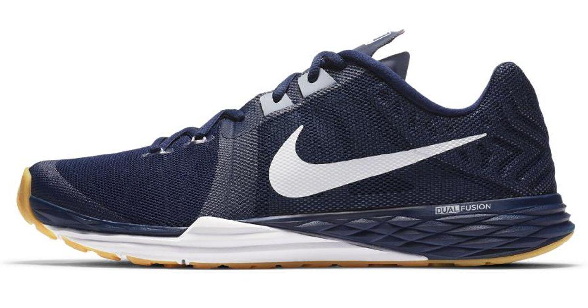 Lyst - Nike Train Prime Iron Dual Fusion Men s Training Shoe in Blue for Men 3d7f1a5c8