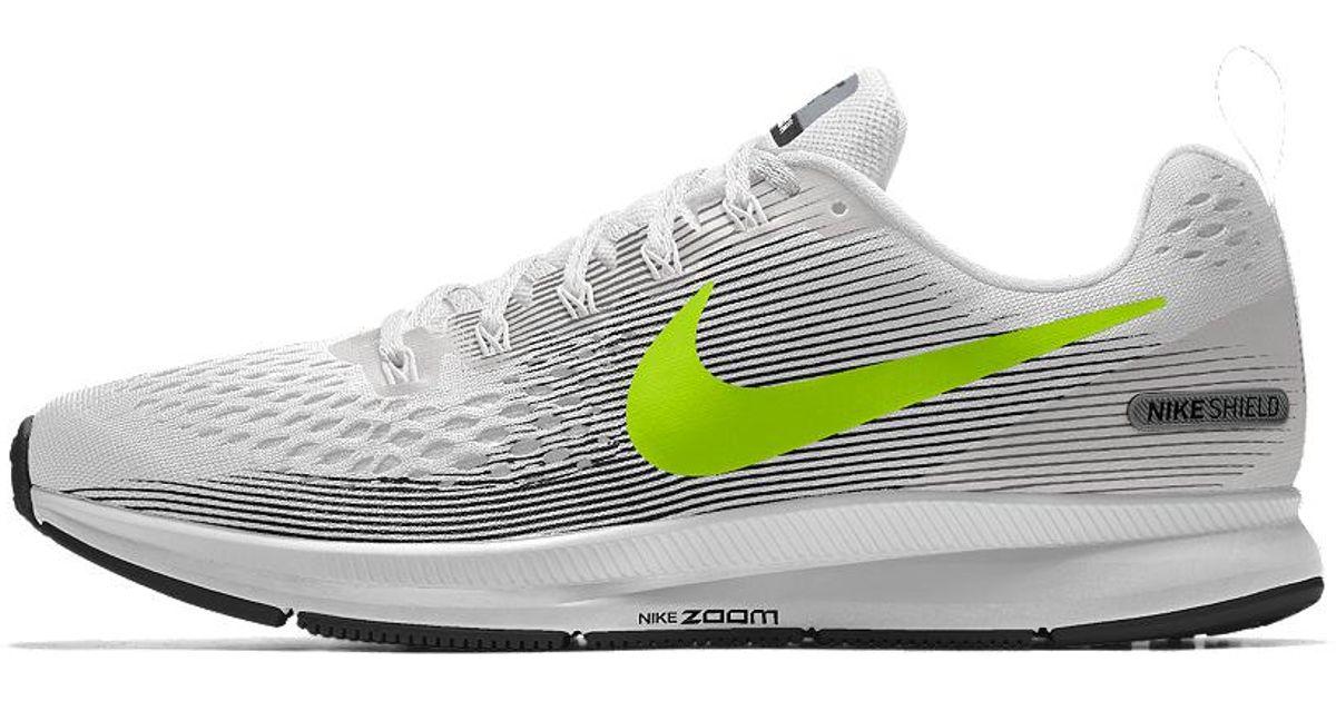 85430a4afecec Nike Air Zoom Pegasus 34 Shield Id Women's Running Shoe - Lyst