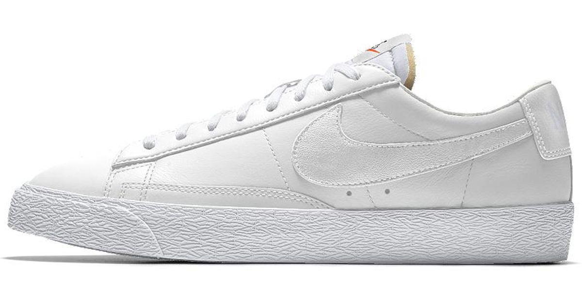 best sneakers 7c059 27deb Nike Blazer Low Id Men s Shoe in White for Men - Lyst