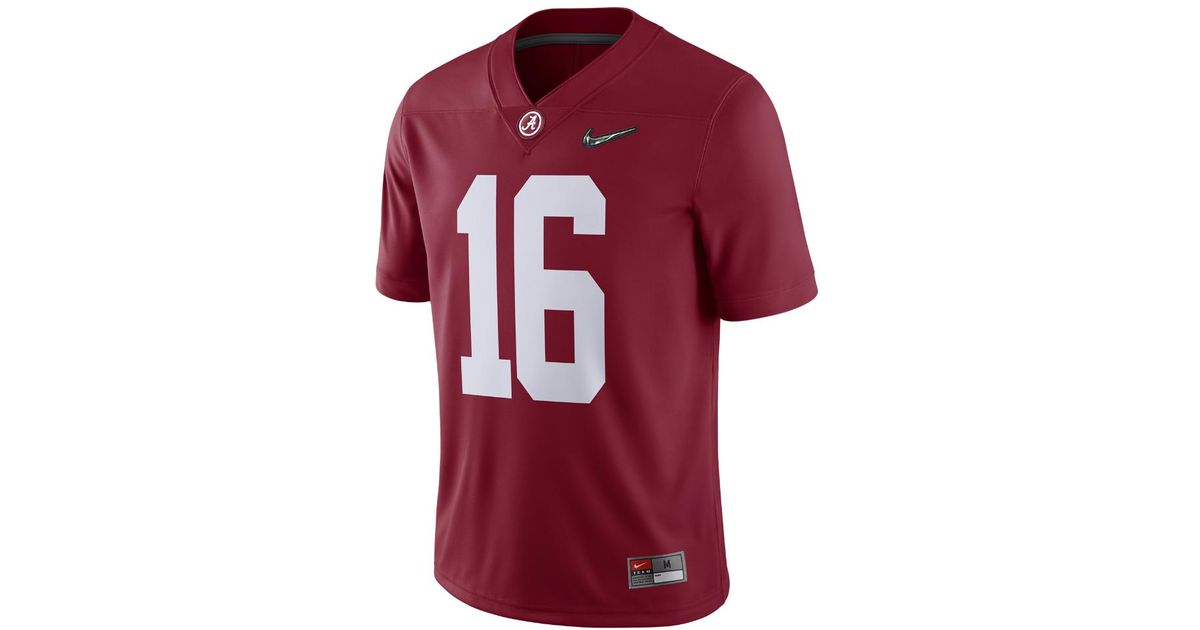 separation shoes 2b71c b73a6 Nike - Red Cfp Game (alabama) Men's Football Jersey for Men - Lyst
