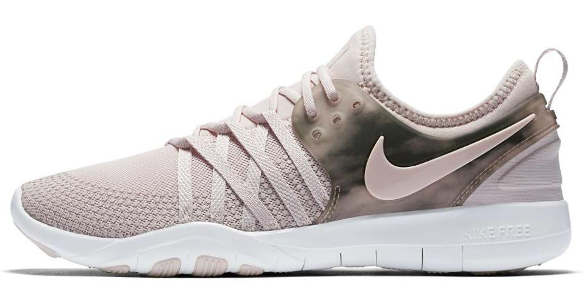 e6cecc6f41d8 Lyst - Nike Free Tr 7 Amp Womens Training Shoe ...