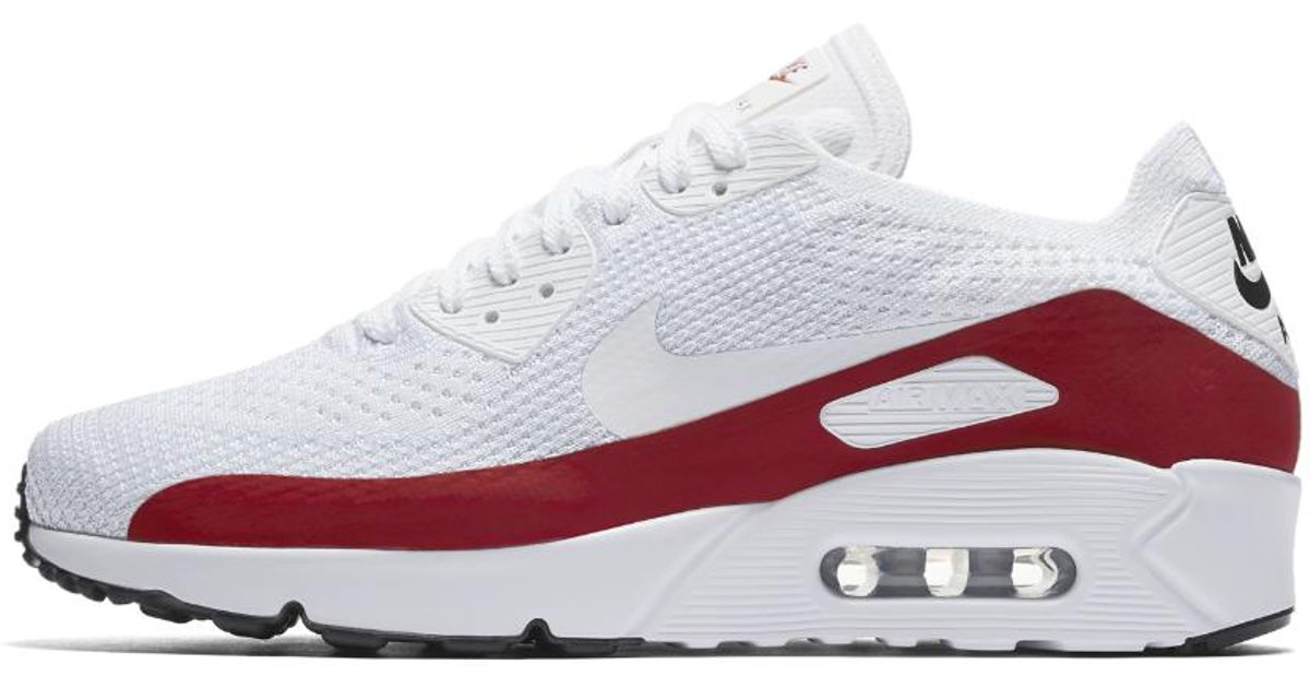 Lyst Zapato Nike Air Max 90 Ultra Flyknit Hombres Zapato Lyst En Blanco Para Hombres f877ce