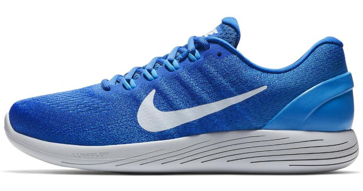 buy online eb5a6 94e7d Nike - Blue Lunarglide 9 Men's Running Shoe for Men - Lyst