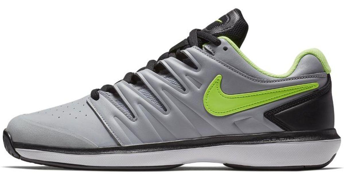8bf53d1814b713 Nike Air Zoom Prestige Leather Hc Men's Tennis Shoe in White for Men - Lyst