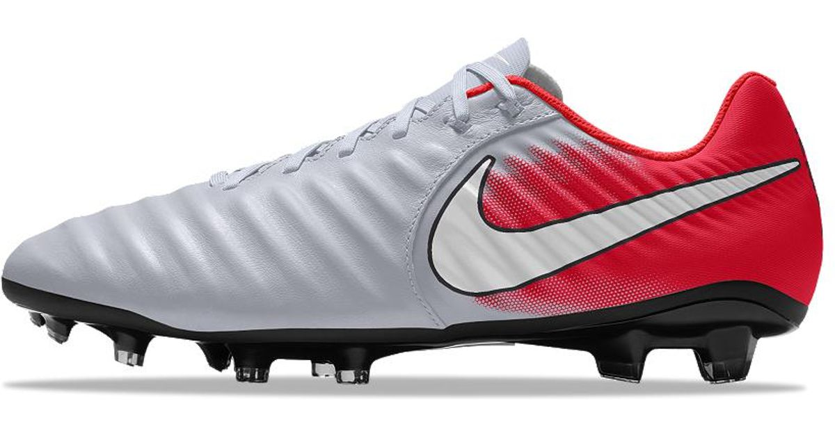 new style 577e4 f5a84 Lyst - Nike Tiempo Legend 7 Academy Fg Id Firm-ground Soccer Cleats in Red  for Men