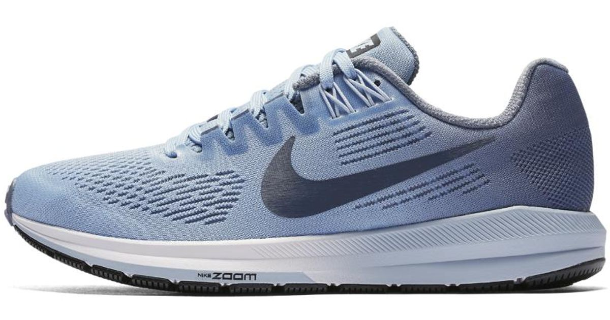 218b3bcae8857 Lyst - Nike Air Zoom Structure 21 (narrow) Women s Running Shoe in Blue