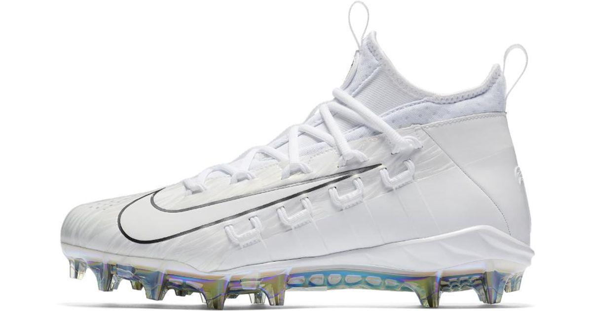 5b40744c888 Lyst - Nike Alpha Huarache 6 Elite Lax Lacrosse Cleat in White for Men