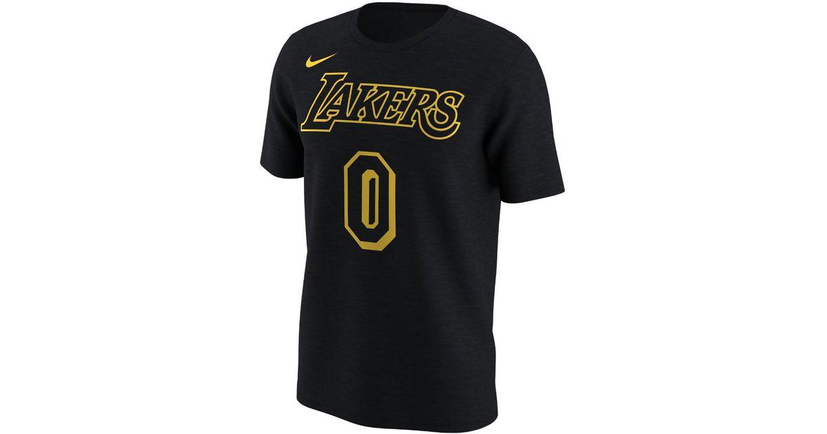 44c170b02e7 Lyst - Nike Los Angeles Lakers City Edition (kyle Kuzma) Dri-fit Men s Nba  T-shirt in Black for Men