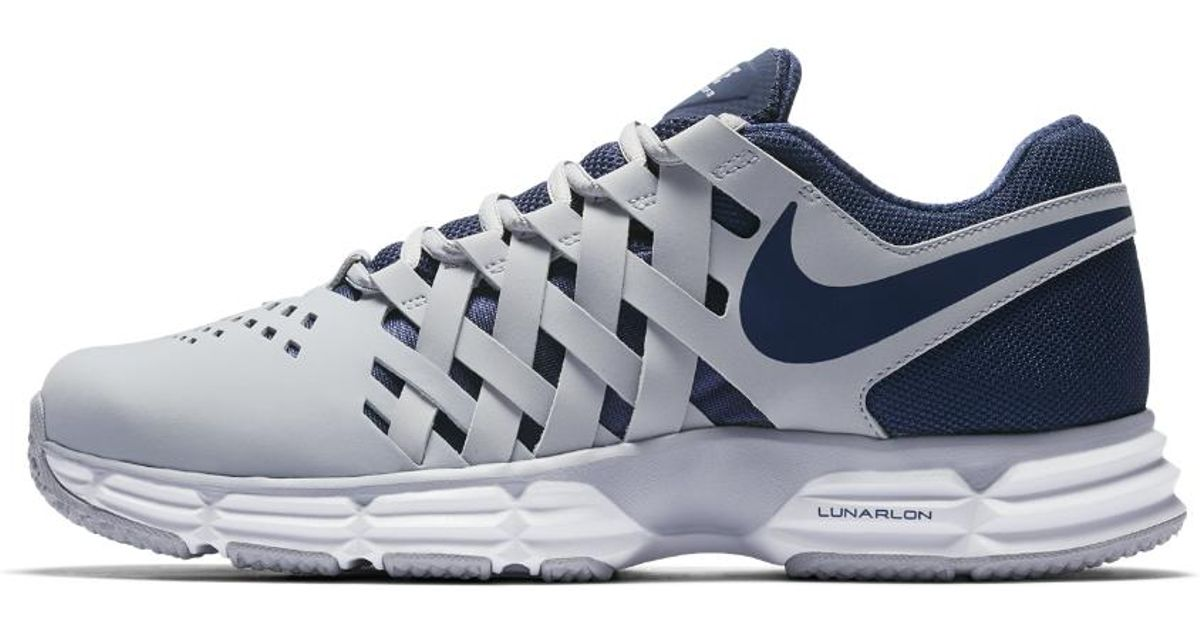 the latest 1857f b07ed Nike Lunar Fingertrap (extra Wide) Tr Men s Training Shoe in Blue for Men -  Lyst