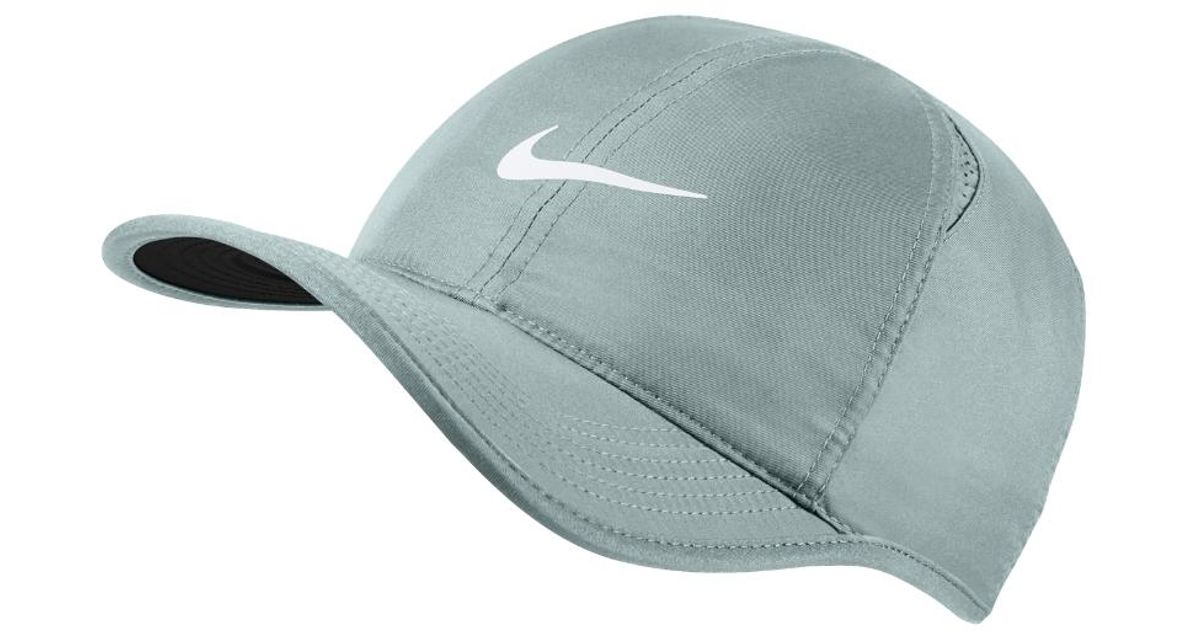 4a67a0189 Nike - Gray Court Featherlight Adjustable Tennis Hat (grey) for Men - Lyst