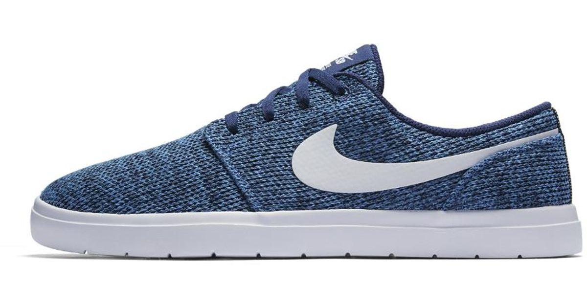 531ce02e759 Lyst - Nike Sb Portmore Ii Ultralight Men s Skateboarding Shoe in Blue for  Men