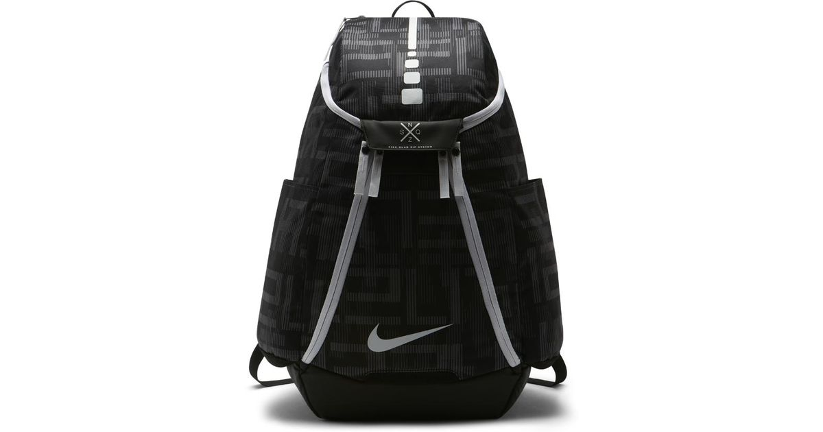 Lyst - Nike Hoops Elite Max Air Team 2.0 Graphic Basketball Backpack  (black) in Black 780f10ffbe040